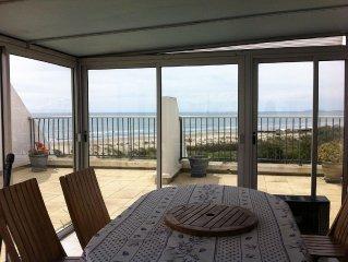 Spacieux T4 1e ligne vue mer - T4 spacious sea view