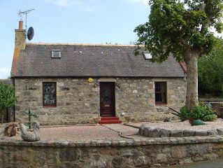 UNIQUE, 3 BEDROOM, DETACHED COTTAGE, LOCATED ON THE BANKS OF THE RIVER YTHAN.