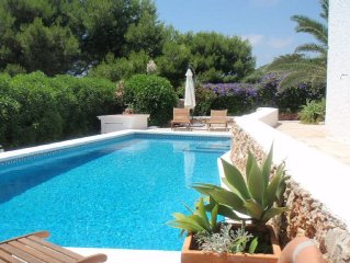Secluded Luxury Private Villa in Quiet Residential Coastal Village with wifi.