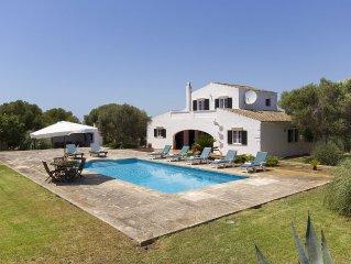 Villa para 8 personas con piscina