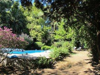 Propriete calme et arboree, avec piscine, Haute Corse