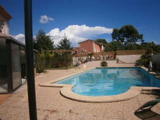 Very nice down villa in Saint-Cyr-Sur-Mer