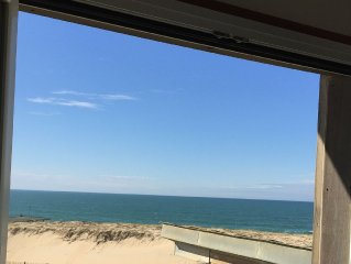 Exceptionnel : une des plus belles plages de la côte aquitaine à vos pieds !