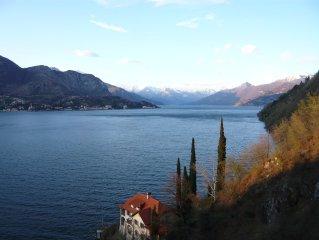 Como Lake 2/4 persons villa's apartment in Lezzeno near Bellagio