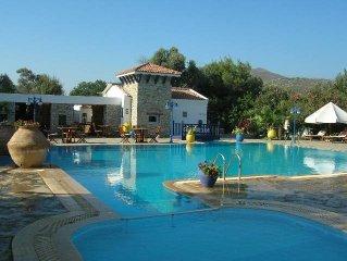 Private villa in charming landscaped boutique resort w/pool in coastal Datca.