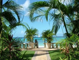 Stylish Beach Front Villa On the West Coast of the Beautiful Island of Barbados
