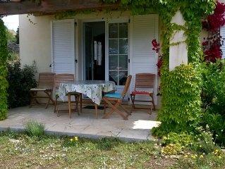 Serraggia Roccapina : maison spacieuse, à 20 mn de Sartène, à 30 mn de Bonifacio