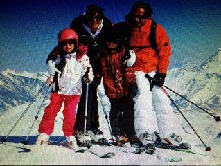 Appartement T2 à Briançon au pied des pistes de ski de Serre Chevalier