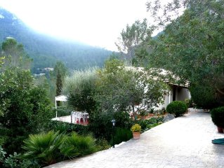 Confortable,nice and quiet house with big garden and bbq in the mountains area