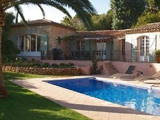 Superb Villa with Private Pool and Sea Views