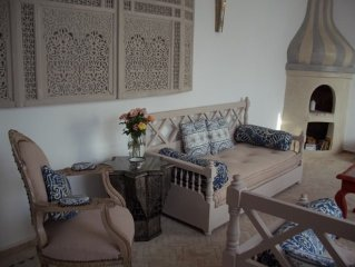 Gorgeous generous and light-filled riad in prime location