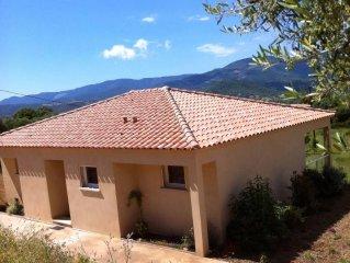 Villa proche des plages du golfe du Valinco, meublé de tourisme 4*