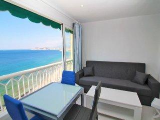 Precioso apartamento primera linea playa en Benidorm
