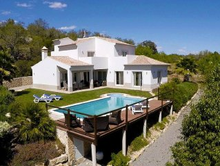 New Luxury Villa close to Tavira with sea views and peaceful rural setting