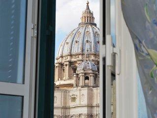 Splendido appartamento vicino Vaticano, vicino Trastevere, Roma Centro,