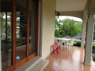 Vacances près de Venise - maison avec jardin