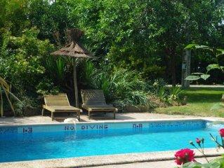 Charmant cottage du 19eme avec piscine privee