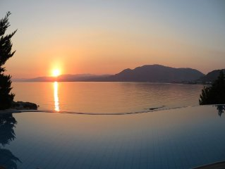 Villa on the Beach with Infinity Pool