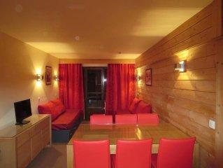 Appartement cosy dans quartier calme et residentiel avec vue panoramique sur la