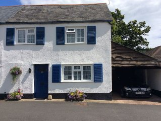 Charming 2 Bedroom Cottage In Sidford, South Devon Coast