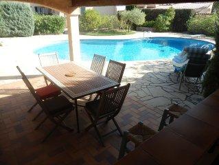 Tres belle villa aux Issambres grande piscine