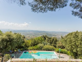 Holiday Home w/Family&Friends in the heart of Umbria.Top location near Assisi&PG