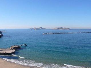 Vue mer exceptionnelle au coeur de Marseille