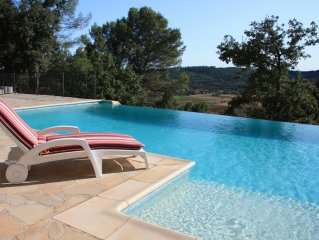 Luxury Villa with infinity pool. 1 hour from Nice Airport. Read our 41 reviews !
