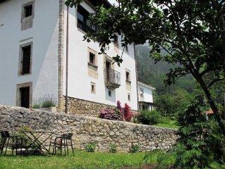 Casona lujo-encanto Asturias. Ribadesella LLanes. Espectaculares vistas al Sella