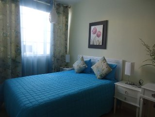 Studio in the center of Alvor with Wifi 5 minutes from the beaches and the estu