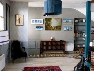 Grande maison pecheur, double  living, 6ch, ideal 2 familles