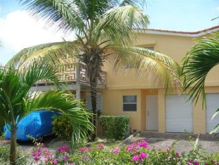 Beautiful two bedroom, two bathroom waterfront villa 5 min beach