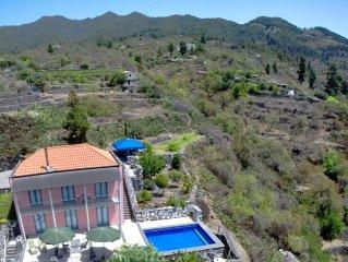 Villa de vacaciones Buena Vista con piscina climatizada