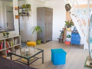 Appartement 4 personnes à 20 mètres de la Plage des Bourdaines
