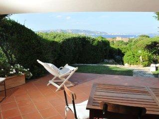Splendida villa con giardino con vista sull'Arcipelago della Maddalena