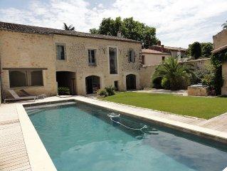 Villa Luxe avec grande Piscine proche Montpellier a 20 minutes des Plages