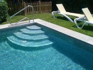 Villa de lujo con piscina privada  a lado del campo de golf