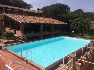 Beautiful Tuscany Charmin Villa on the Beach Monte Argentario