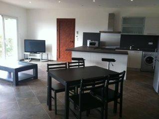 appartement  1 chambre  a 200 metres de la plage wifi barbecue terrasse