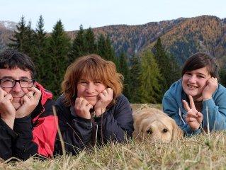 Settimane  in Val di Fiemme; appartamento con molti i confort  a contatto dirett