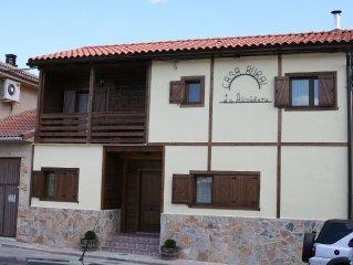 casa de madera ideal para familias o grupos de 8 personas a 5 km de bardenas