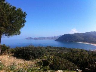 Prox Ile Rousse, Superbe Villa 8 couch, piscine chauffée, fantastique vue mer