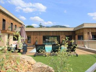 Villa Contemporaine 5 Etoiles avec Vue Exceptionnelle sur les Gorges du Tarn