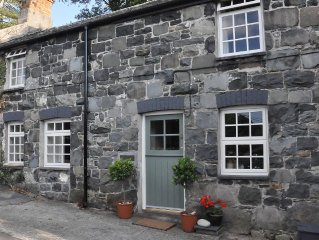 Traditional Welsh Cottage In Snowdonia National Park. Visit Wales 4 Star Rated