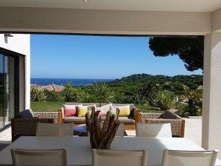 ste maxim luxurious modern villa with stunning sea views