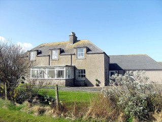 Luxury Self-Catering Traditional Family Farmhouse in John o'Groats, Caithness