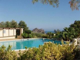 maison independante exceptionnelle, vue mer panoramique, tres calme