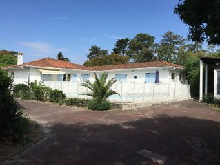 Large Villa With Heated Pool In Hossegor