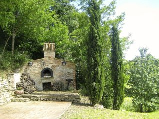 Beautiful Marche Farmhouse With Spectacular Views between Urbino and the Coast