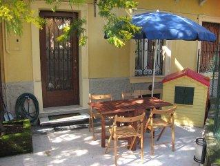 Verona centro tranquillo appartamento entrata indipendente con giardino privato